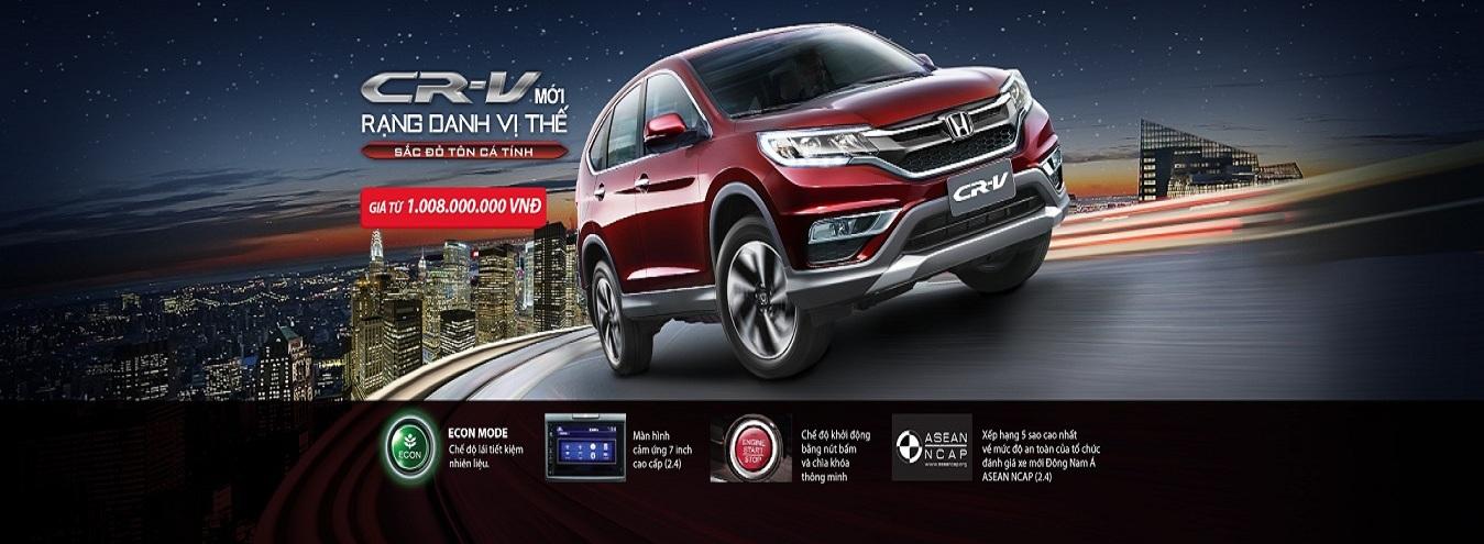 Đánh giá xe Honda CR-V 2016 phiên bản mới