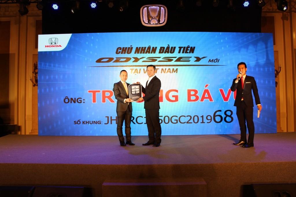 Honda Odyssey 2016 bắt đầu giao xe cho khách hàng Việt Nam