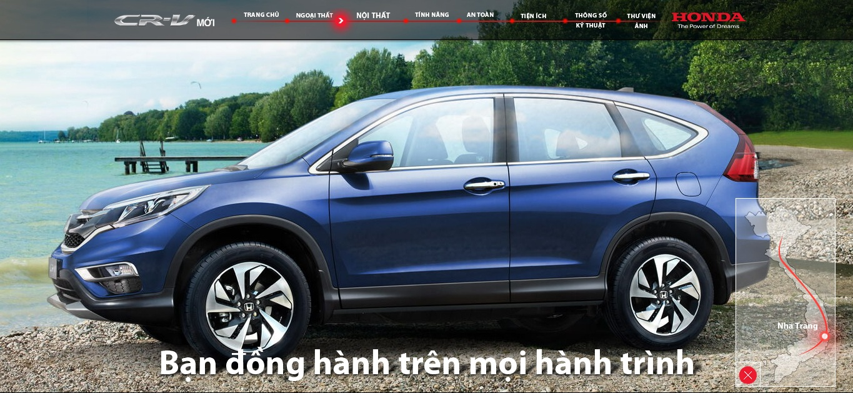 Giá xe Honda CR-V 2017