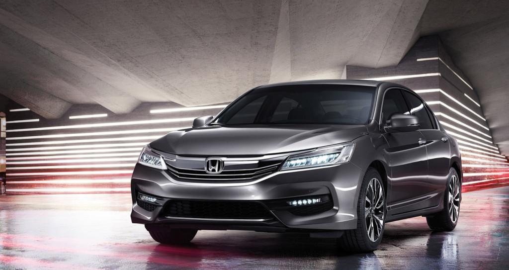 Honda Accord 2016 mới bản facelift
