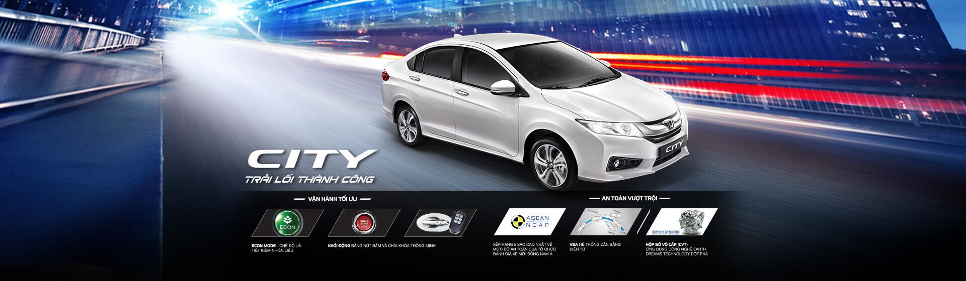 Thông số kỹ thuật xe Honda City 2017 mới