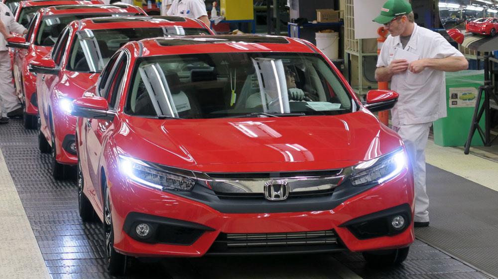Honda Civic 2016 chính thức đi vào sản xuất