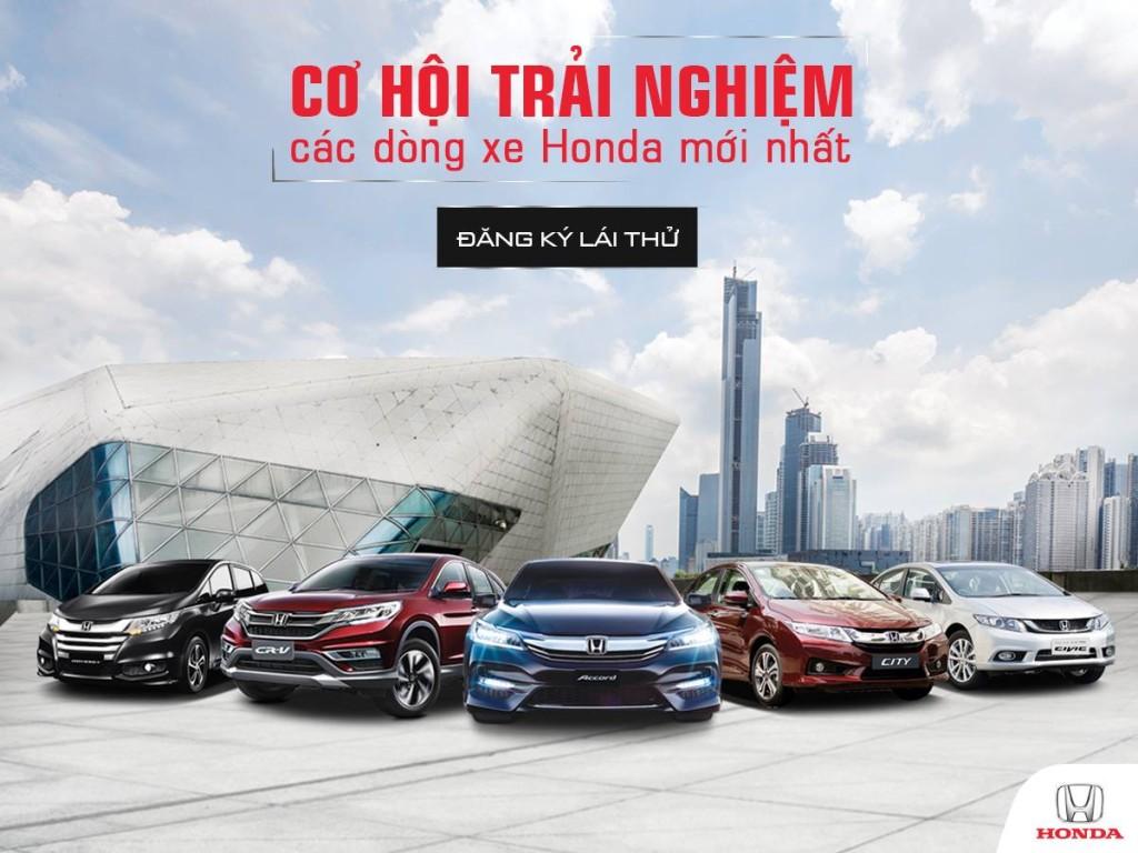 Chương trình Lái thử xe Ôtô Honda