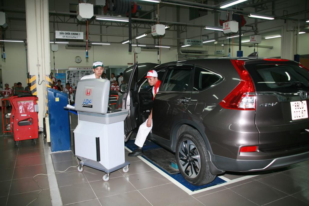 Cơ hội trải nghiệm dịch vụ Honda chính hãng
