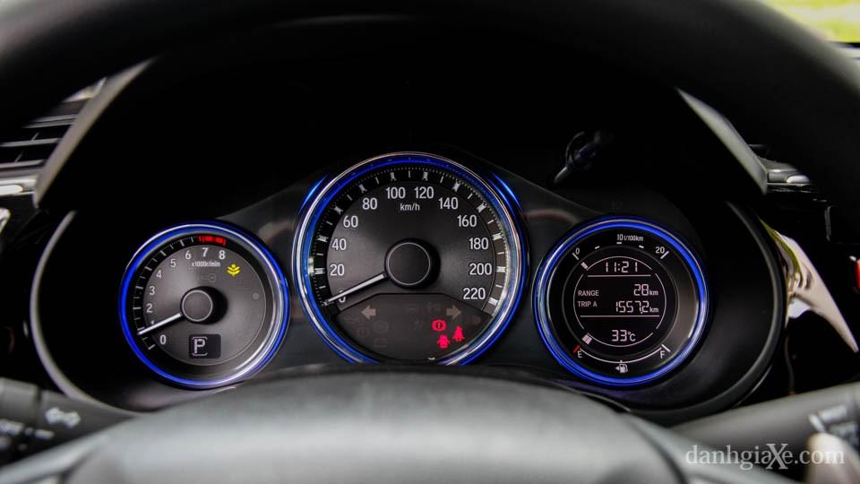 Hình ảnh chi tiết Honda City 2016