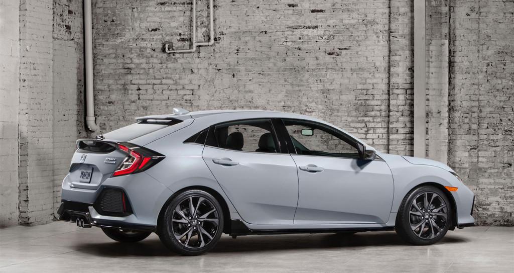Honda Civic 2017 bản Hatchback chính thức ra mắt