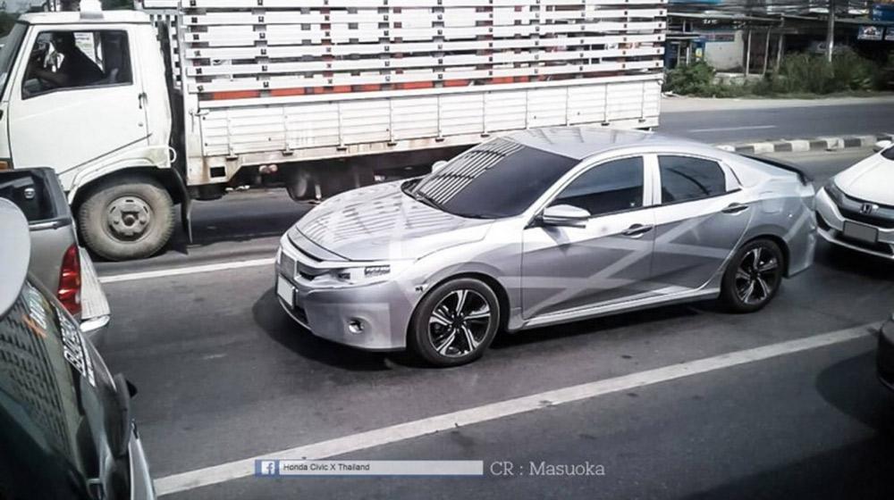 Honda Civic 2017 phiên bản dành cho thị trường Đông Nam Á