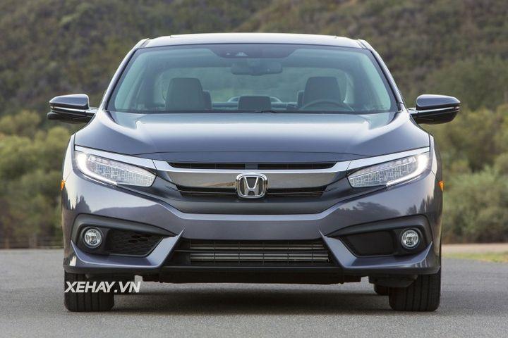 Honda Civic 2017 về Việt Nam giá bao nhiêu?