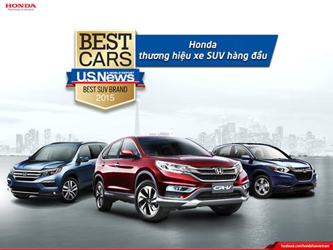 Honda CR-V 4 năm liên tiếp là mẫu SUV bán chạy nhất tại Mỹ