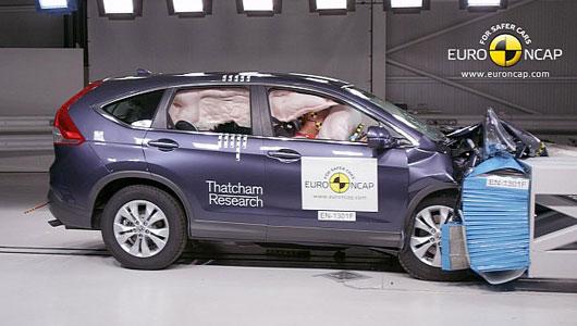 Honda CR-V thế hệ mới đạt tiêu chuẩn an toàn 5 sao