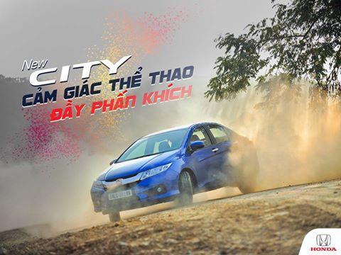 New Honda City: Cảm giác lái thể thao đầy phấn khích