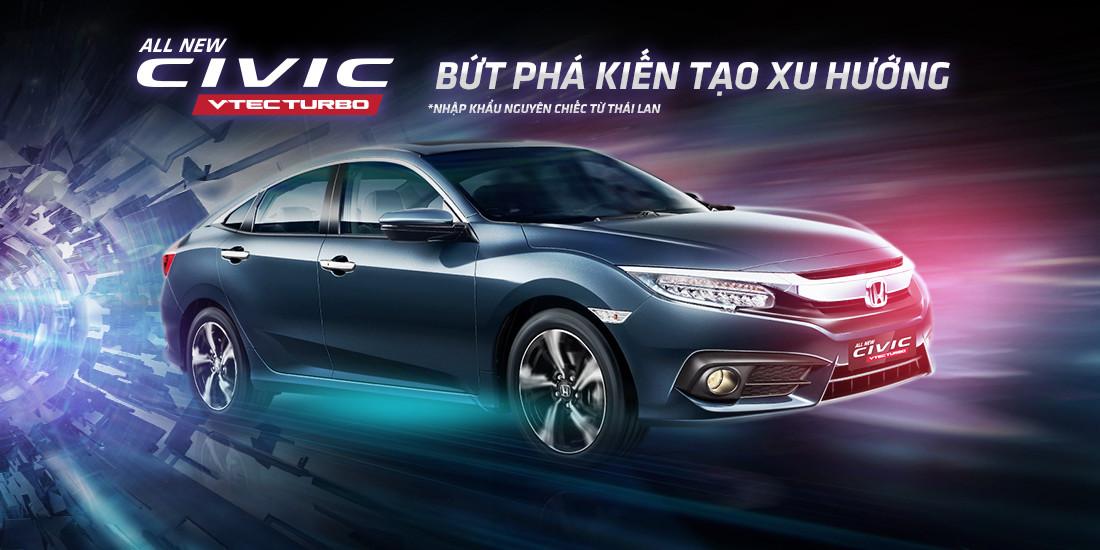 Thông số kỹ thuật xe All New Honda Civic 2017 mới