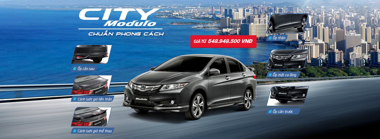 Honda City Modulo chuẩn phong cách