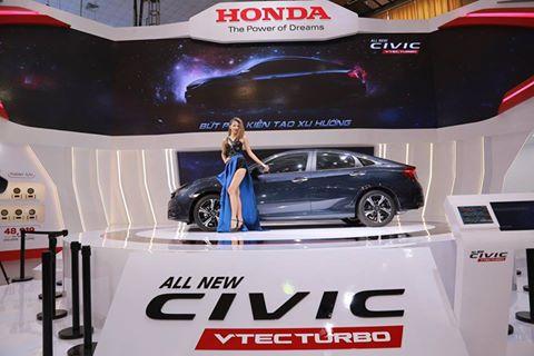 Chính thức ra mắt Honda Civic VTEC Turbo mới