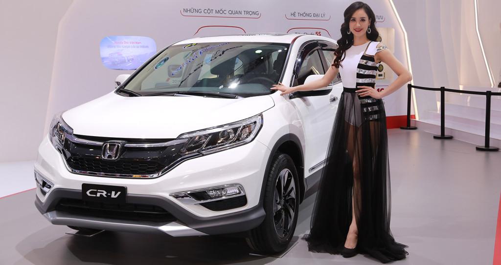 Honda CR-V ra mắt phiên bản đặc biệt