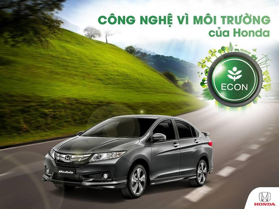 ECON Mode - Công nghệ vì môi trường của Honda