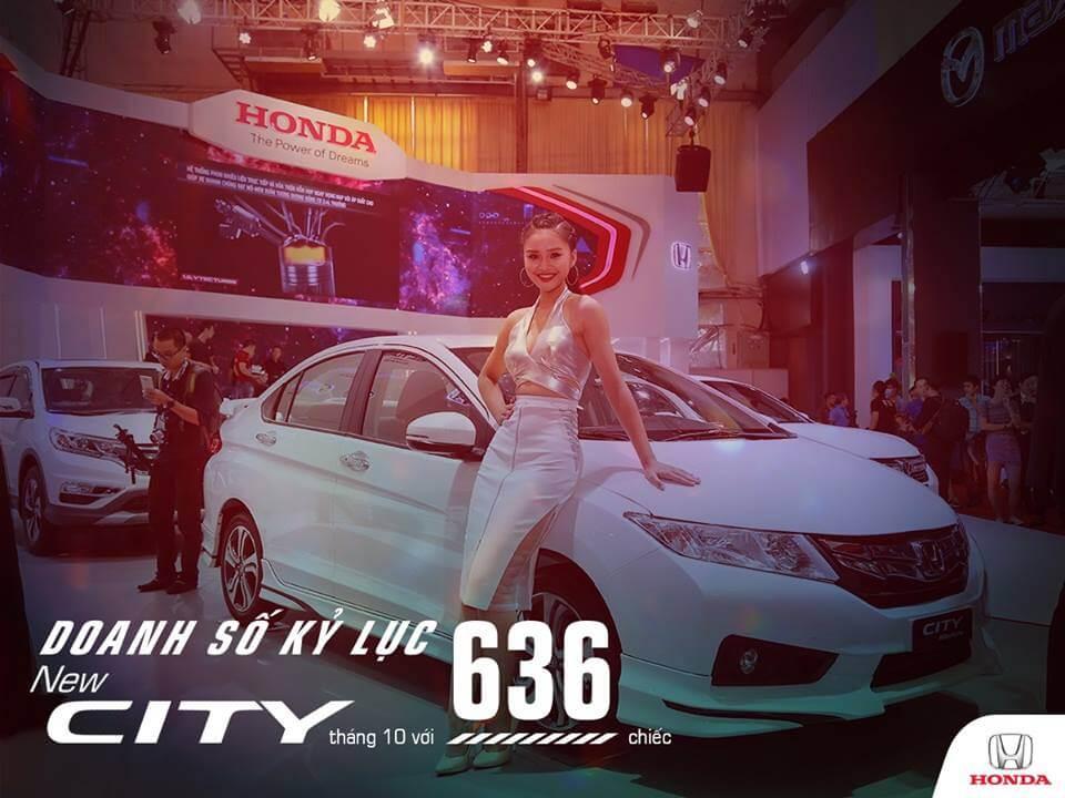 Honda City đạt doanh số bán kỷ lục