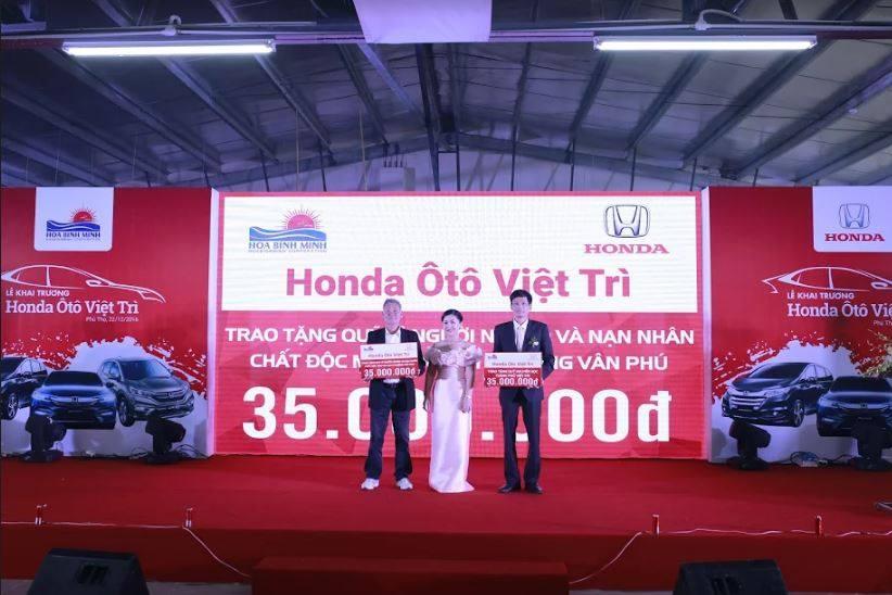Khai trương đại lý 5S Honda Ôtô Việt Trì tại Phú Thọ