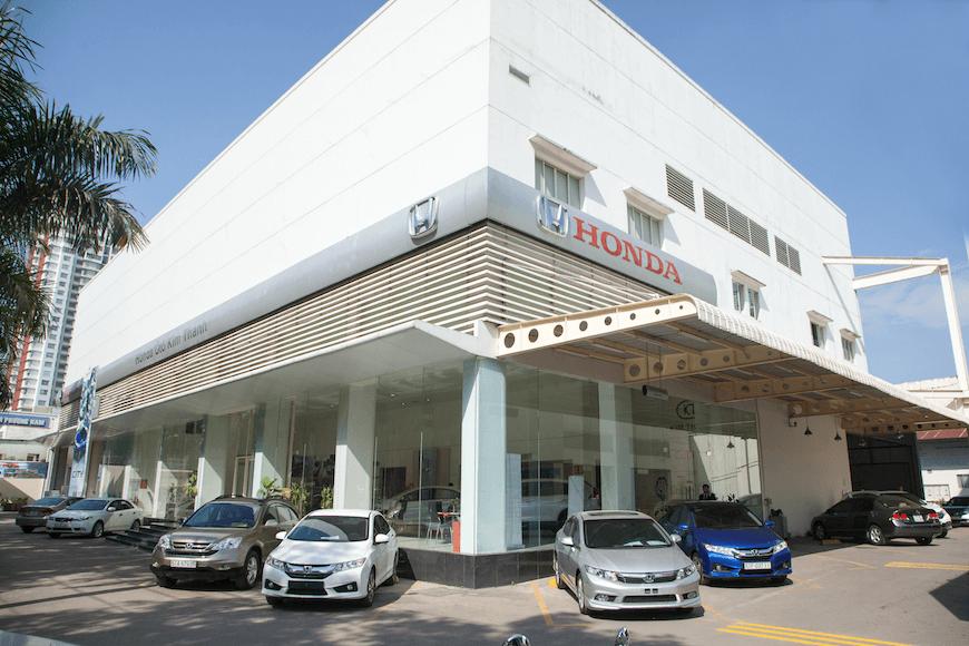 Giới thiệu đại lý Honda Ôtô Kim Thanh