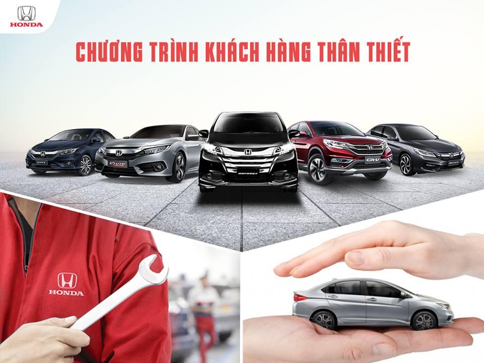 CHƯƠNG TRÌNH KHÁCH HÀNG THÂN THIẾT do Honda Việt Nam tổ chức