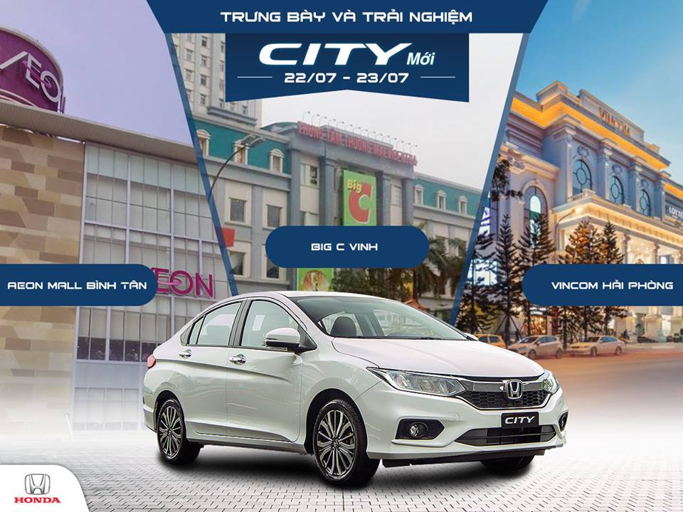 Làm thế nào để trải nghiệm Honda City mới?