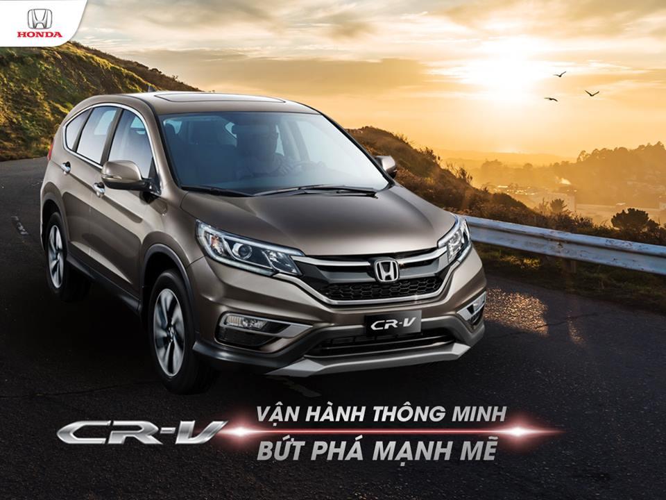Trải nghiệm ngay các tính năng vận hành khác biệt trên Honda CR-V