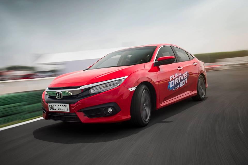 CIVIC 1.5 VTEC TURBO THỂ HIỆN THẾ NÀO TẠI FUN TO DRIVE 2017